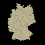 Vokietijos apskričių kontūrai